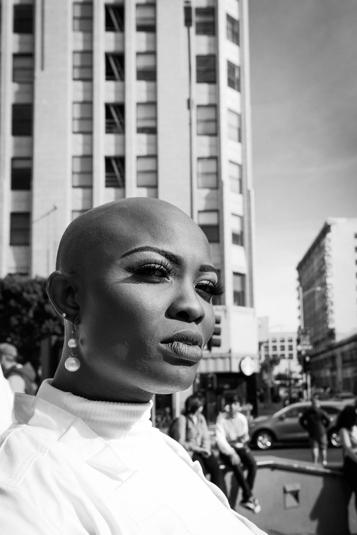 La Slavery March Street Portrait